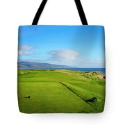 First Tee At Brora Golf Club, Moray Tote Bag