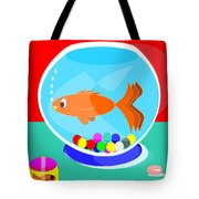 Fish Tank With Fish And Complete Kit Tote Bag