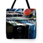 Abstract Fishing   Tote Bag