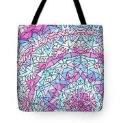 Comfortably Cosmic, In Lavendar Tote Bag