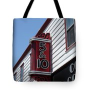 Five And Dime Store Tote Bag by Richard Reeve