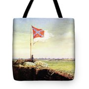Flag Of Fort Sumter Tote Bag