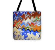 Flaking Paint Tote Bag