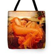 Flaming June Tote Bag