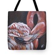 Flamingo Grace Tote Bag