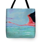 Flamingoes For Audrey Tote Bag
