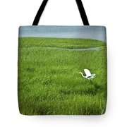 Salt Marsh Flight Tote Bag