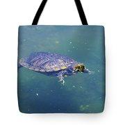 Floating Turtle Tote Bag