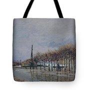 Flood At Port-marly, 1878 Tote Bag