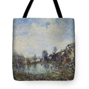 Flooded  Field Tote Bag