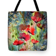Floral Abracadabra Tote Bag