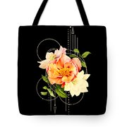 Floral Abstraction Tote Bag by Bee-Bee Deigner