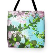 Floral Bloom In Summer II Tote Bag by Anne Leven