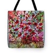 Floral Life Tote Bag