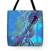 Flow Of Music Tote Bag