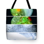 Flower Junk  Tote Bag