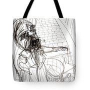 Flower Seller Tote Bag