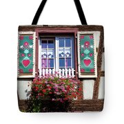 Flowered Window - 6 Tote Bag