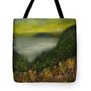 Flowers At Sunrise Tote Bag