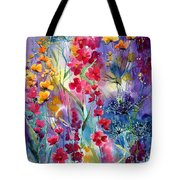 Flowers Fairy Tale Tote Bag