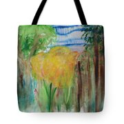 Flowers In A Forest Tote Bag