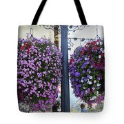 Flowers In Balance Tote Bag by Mae Wertz