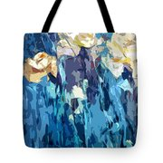 Flowery Appearance Tote Bag