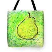 Fluorescent Pear Tote Bag
