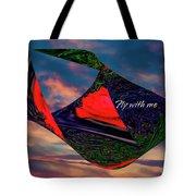 Fly With Me Tote Bag by Gerlinde Keating - Galleria GK Keating Associates Inc