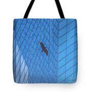Flying Abstract Tote Bag