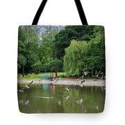 Flying Geese Tote Bag
