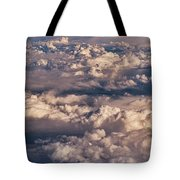 Flying Over The Rocky Mountains Tote Bag