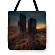 Foggy Day 1 Tote Bag by Juan Contreras