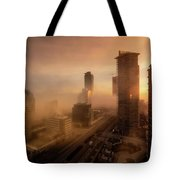 Foggy Day 2 Tote Bag by Juan Contreras