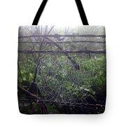 Foggy Web Tote Bag