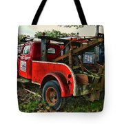 Ford F4 Tow The Truck Business End Tote Bag