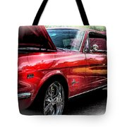 Ford Mustang Side Angle Tote Bag by Keith Smith