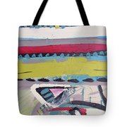 Forest Drums Tote Bag by John Jr Gholson