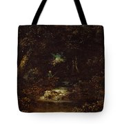 Forest Landscape  Tote Bag