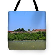 Fort Ticonderoga, From Lake Champlain. Tote Bag