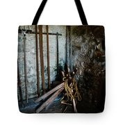 Fort Tools Tote Bag by Judy Hall-Folde