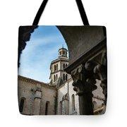 Fossanova Abbey Tote Bag