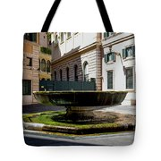 Fountain Square St. Eustace Tote Bag
