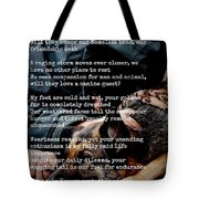 Four Legged Blessing Tote Bag