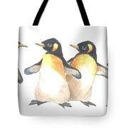 Four Penguins Tote Bag