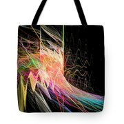 Fractal Beauty Deluxe Colorful Tote Bag by Don Northup