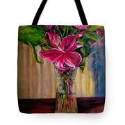 Fragrance Filled The Room Tote Bag by J Reynolds Dail