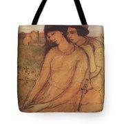 Francesca Da Rimini And Paolo Malatesta 1903 Tote Bag