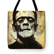 Frankenstein's Notebooks Tote Bag