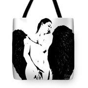 Frankie The Dark Angel Tote Bag